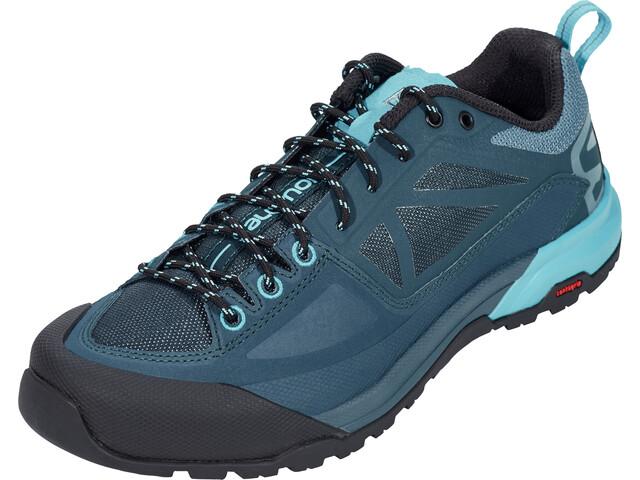 6f8c9fb9cb Salomon X Alp Spry Hiking Shoes Women mallard blue/reflecting pond/blue bird